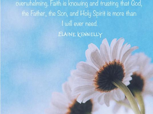 Faith...Oh, God, I Need More!