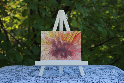 Sunflower Morning Small Card