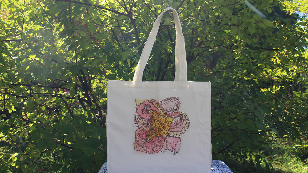 Canvas Tote Bag - Rilly Frilly