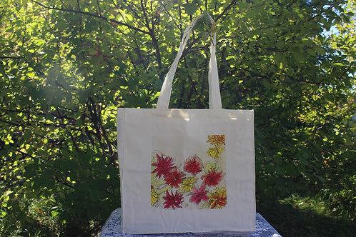 Canvas Tote Bag - Portulacas