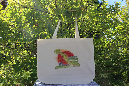 Large Canvas Tote Bag - Harvest