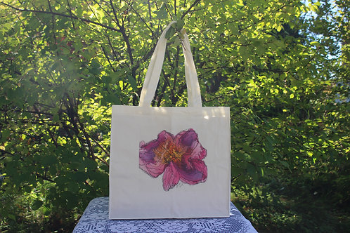 Canvas Tote Bag - Night Embers