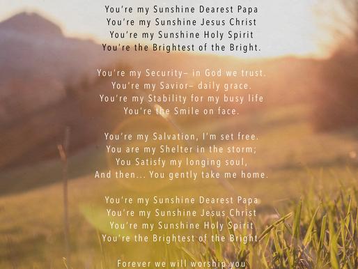 He is My Sunshine