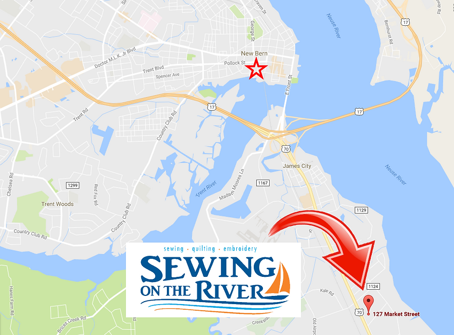 Fabric Store New Bern Sewing On The River Inc