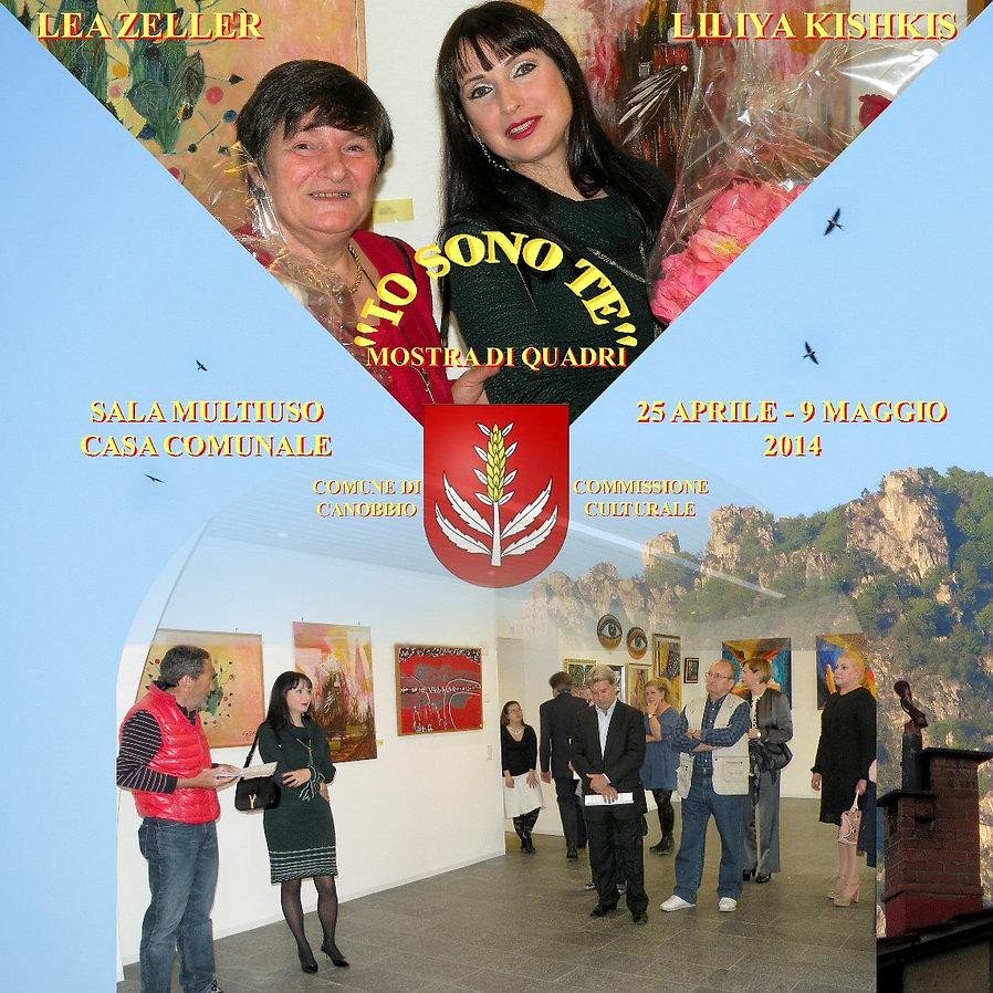 COMUNE DI CANOBBIO - IO SONO TE - Liliya Kishkis