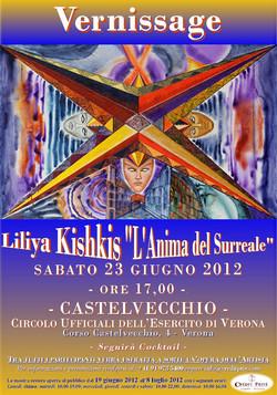 VERNISSAGE_L'ANIMA DEL SURREALE 23-6-12 Liliya Kishkis