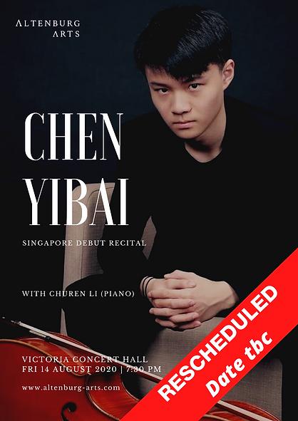 RESCHEDULED Chen Yibai & Li Churen (post