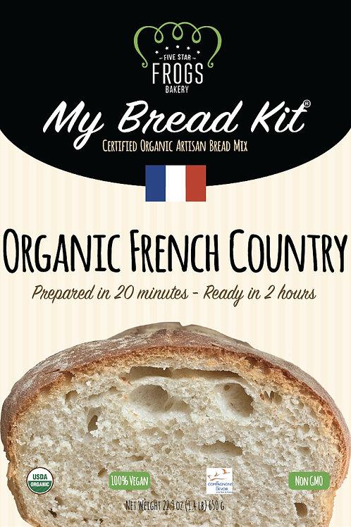 MyBreadKit® - Organic French Country