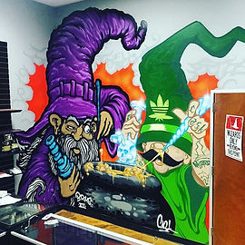 wizard graffiti
