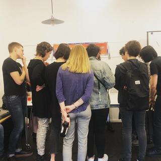 superrr feminist tech night workshop