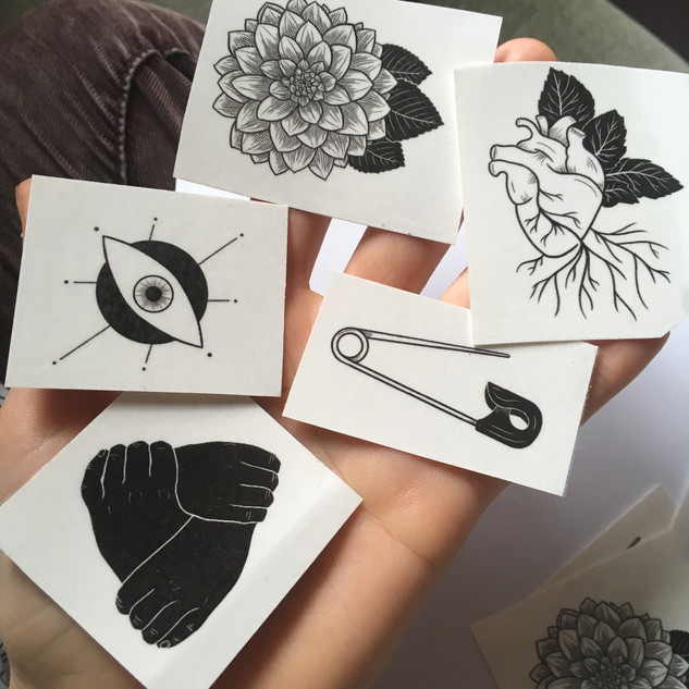 the oracle temporary tattoos!