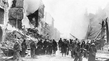 В день снятия блокады Ленинграда...