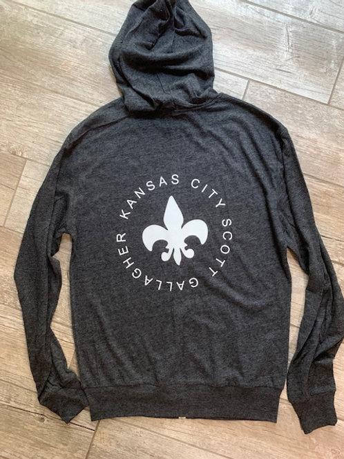 KCSG zip hoodie