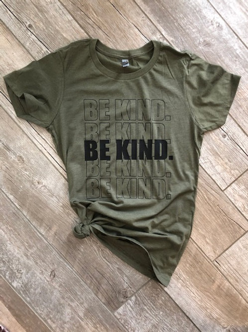 Be Kind Women's Fitted Tee