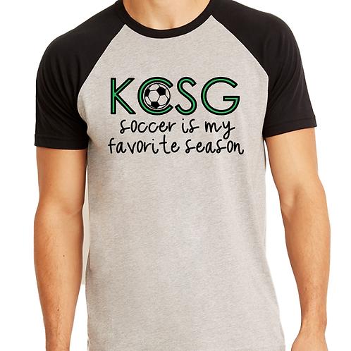 KCSG Favorite Season Raglan