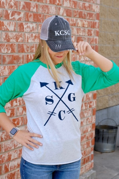 KCSG Arrow Raglan