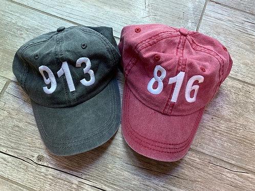 KC Area Code Hat