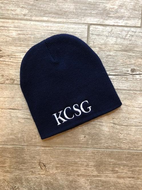 KCSG Navy Beanie