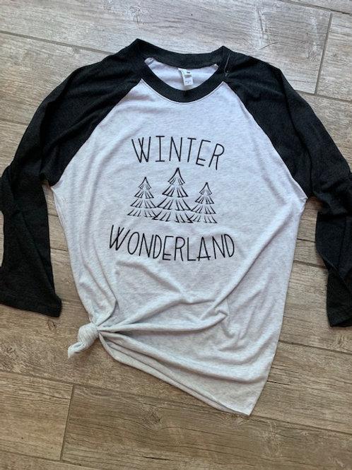 Winter Wonderland Raglan