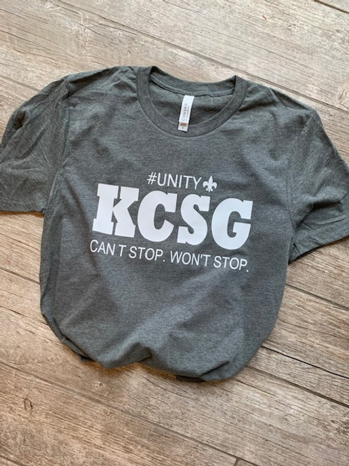 KCSG Can't Stop. Won't Stop