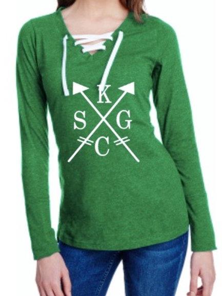 KCSG arrow laces