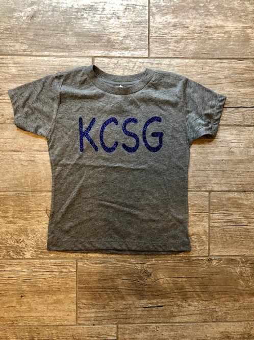 Youth KCSG Glitter tee