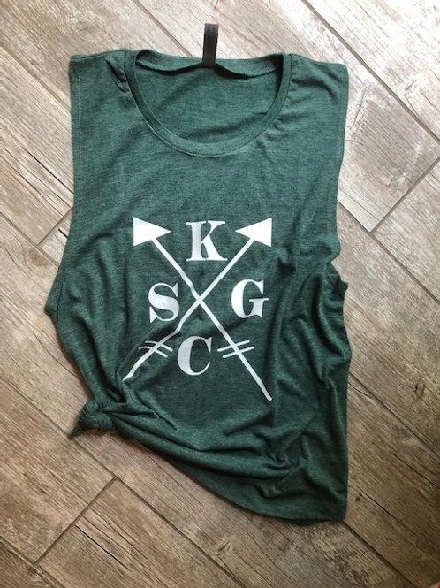 Women's KCSG Arrow Muscle Tank