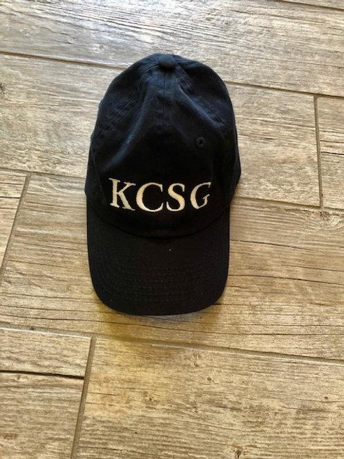 Kids Navy KCSG Hat