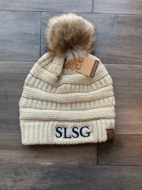 SLSG ball beanie