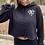 Thumbnail: SLSG heart cropped hoodie