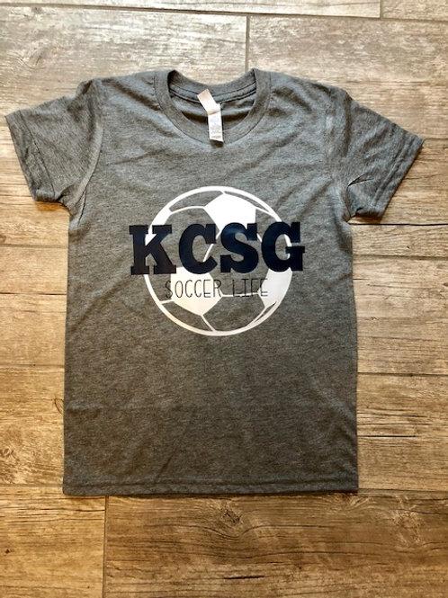KCSG Soccer Life Tee