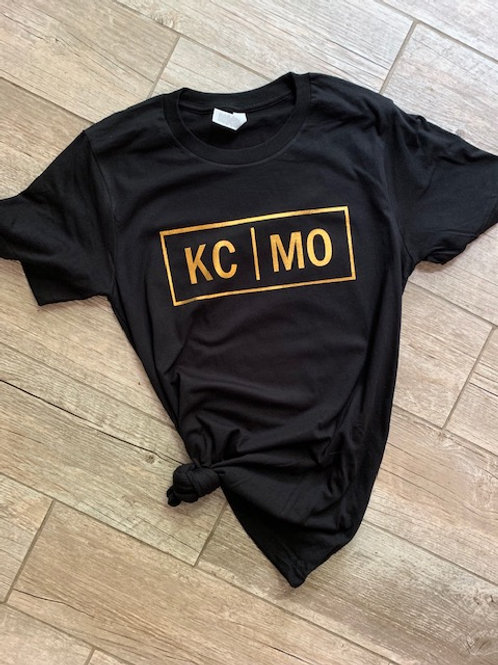 KC | MO Gold Foil Tee