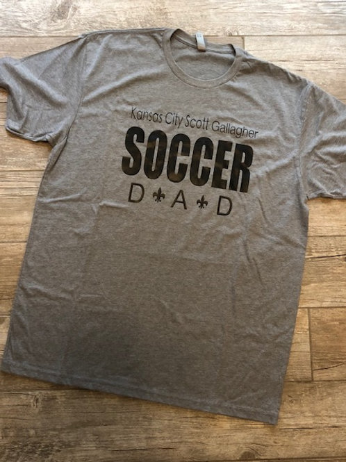 Men's KCSG Soccer Dad Tee