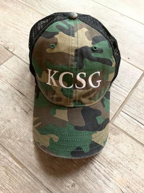 KCSG camo hat