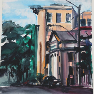 Judy-Evening Light Up Market Street, Whe