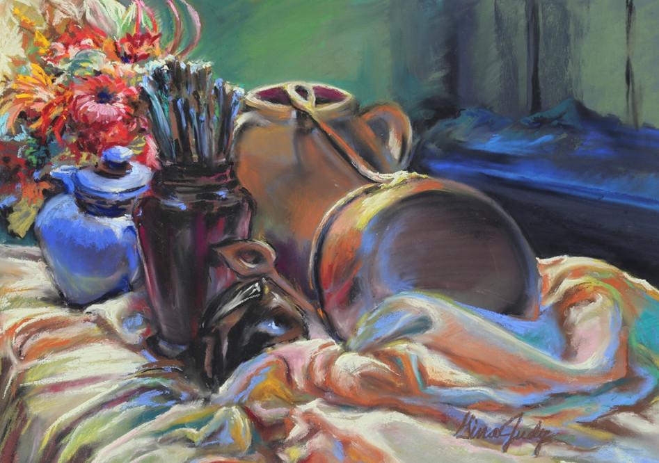 "The Artist's Kitchen (Pastel-Painting 28.5"" x 34.25"")"