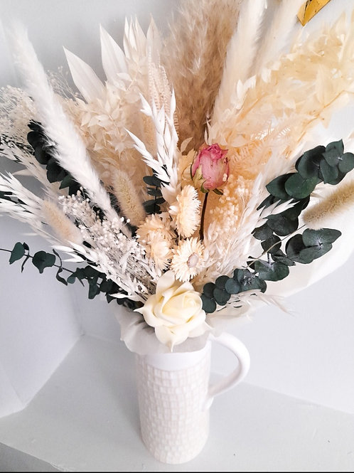 Bouquet de fleurs séchées Apolline