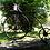 Thumbnail: Vélo porte fleurs en rotin