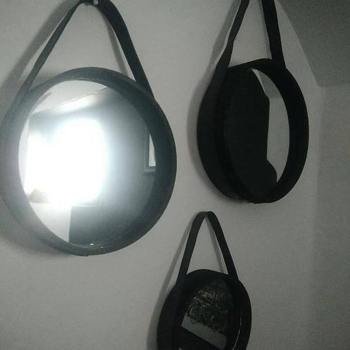 Miroirs ronds , lot de 3