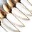 Thumbnail: cuillères dorées vintage