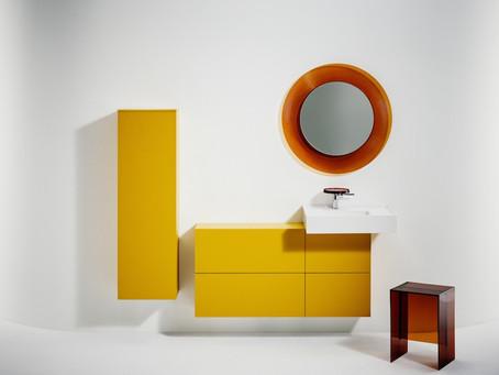 Színes, matt vagy átlátszó: a Kartell by Laufen kollekció új megjelenést kapott.