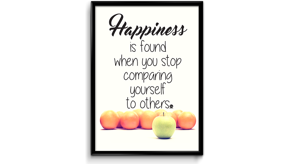 Happiness - plakat