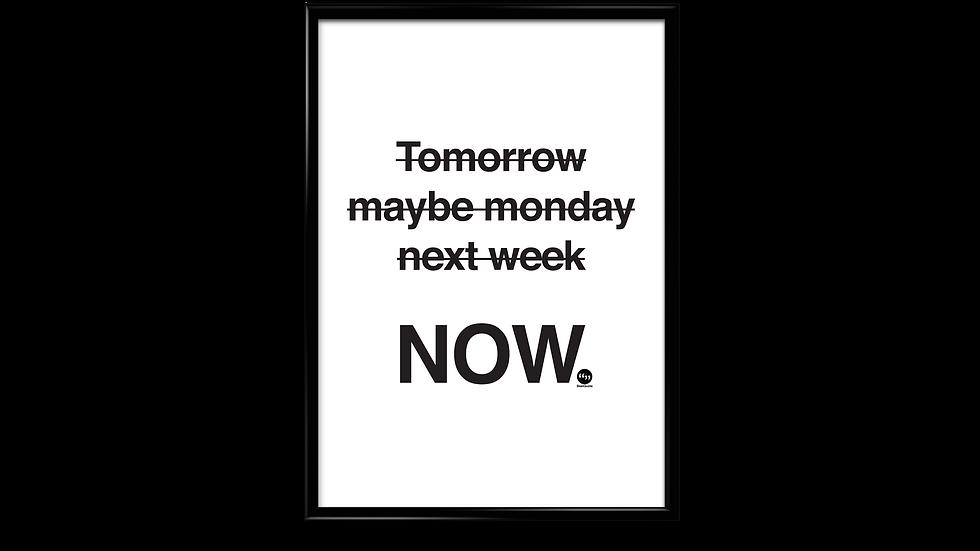 Do it NOW - plakat