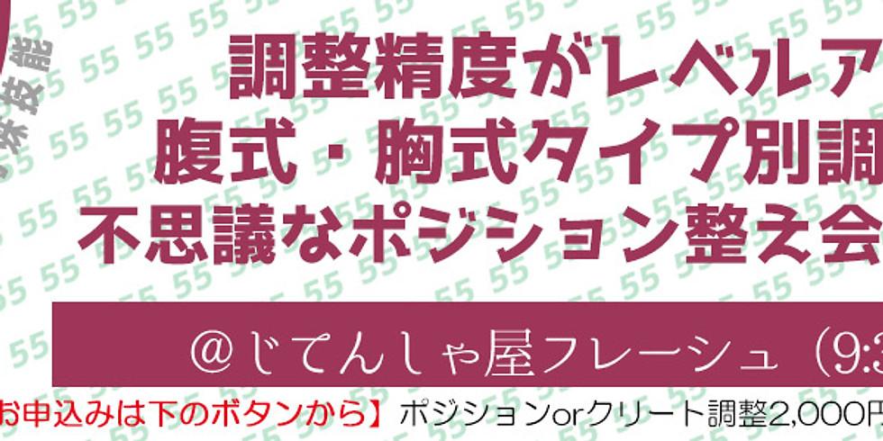 3.【2021.5.15 <10:50-11:30>】チャリ整え会55th