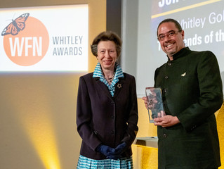 Jon Paul Rodríguez gana el premio Whitley Gold Award
