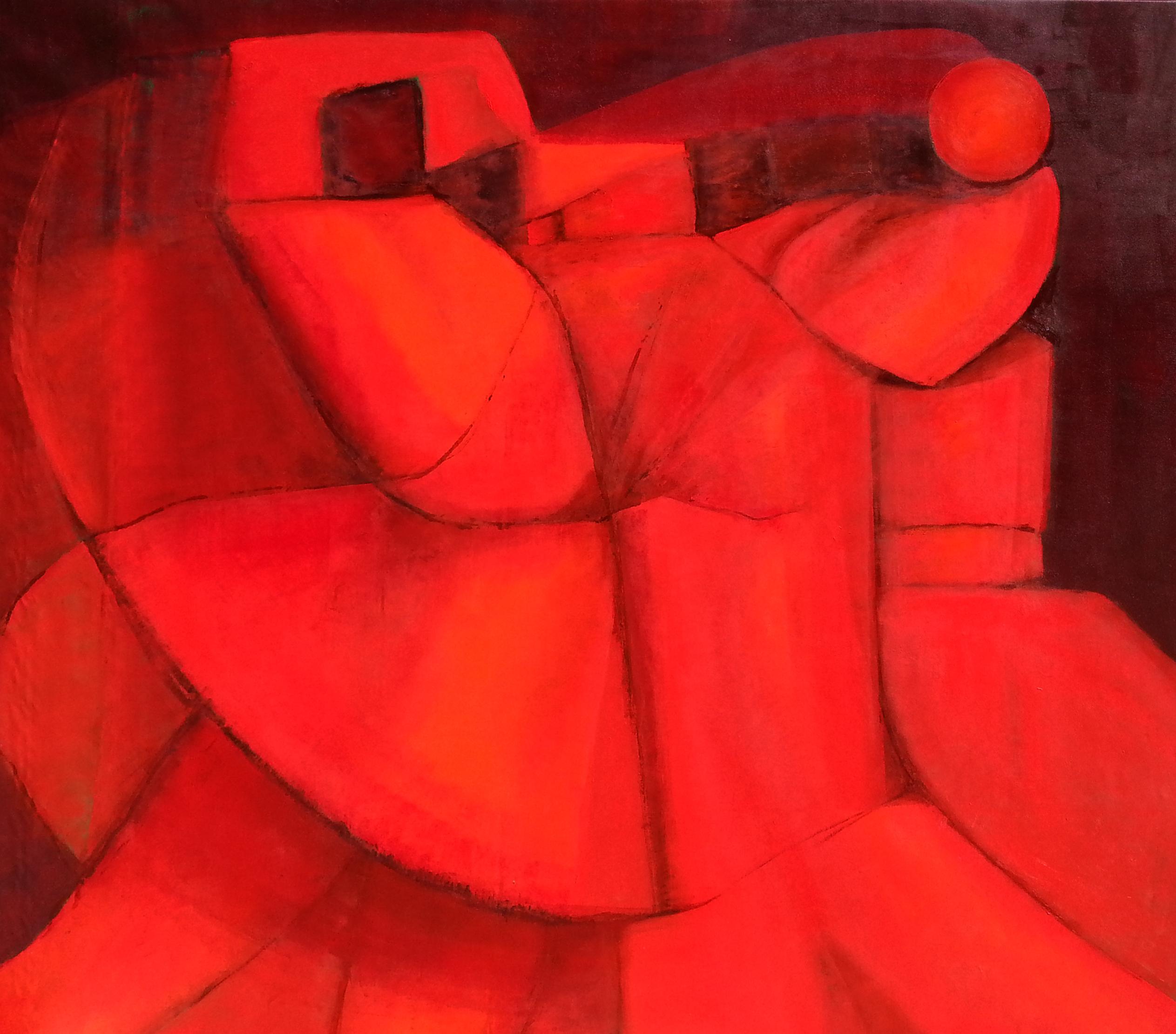 Bartolomeo Gatto Energy in red olio