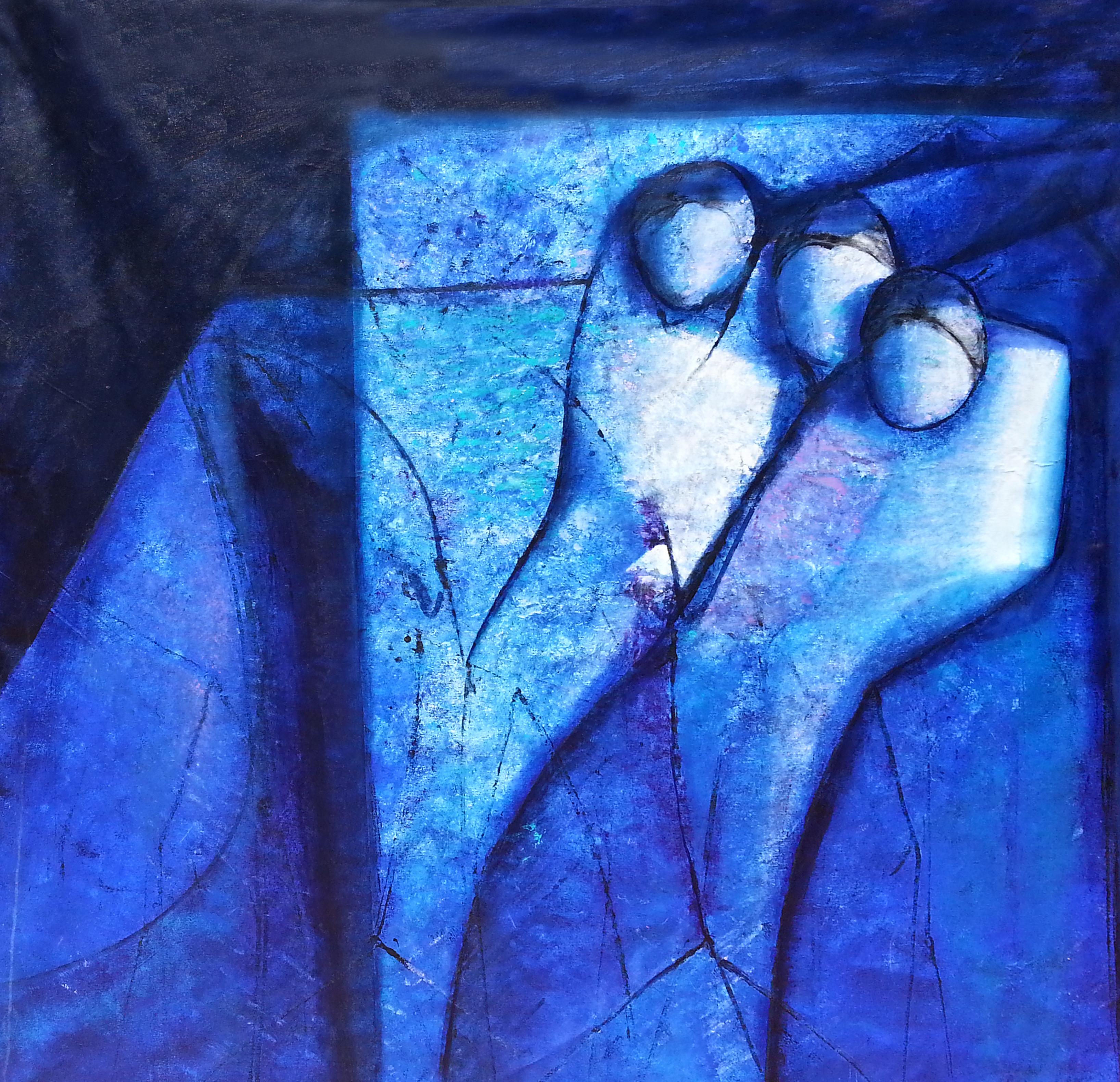 Bartolomeo Gatto - Scolpite nella roccia - acrilico 200x200
