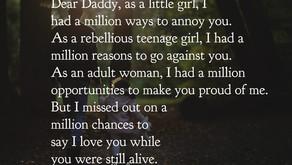 Dear Daddy, I miss you