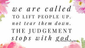 Judgement starts and ends with God.