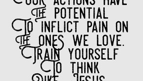 Let God be your trainer.
